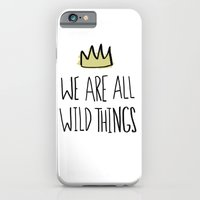 iPhone & iPod Case featuring Wild Things by Leah Flores