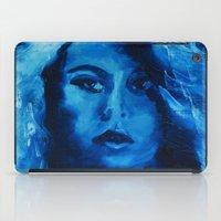 THE BLUE QUICK PORTRAIT iPad Case