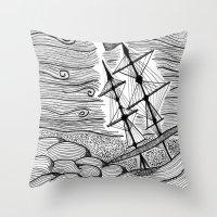 capsized Throw Pillow