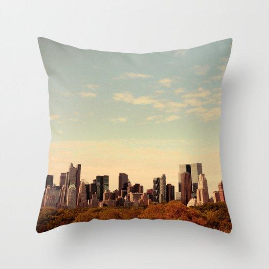 Skyline #1  Throw Pillow