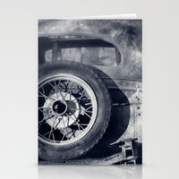 The Old Car Stationery Cards