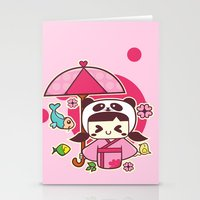 Love Begings Stationery Cards