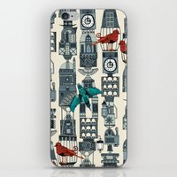 steampunk towers iPhone & iPod Skin