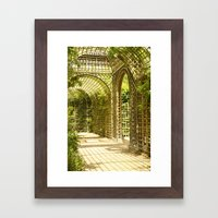 Gardens Of Versailles Framed Art Print