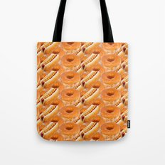 Hot Dogs And Donuts Tote Bag