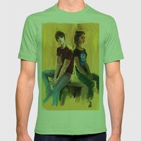 Jordan Kyle & Maia Rober… Mens Fitted Tee Grass SMALL