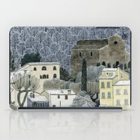 Winter Town iPad Case