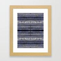 Floating / Open Waters Framed Art Print