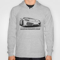 Lamborghini Line Drawing Hoody