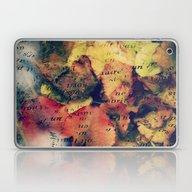 Waterlily Leaves - JUSTA… Laptop & iPad Skin