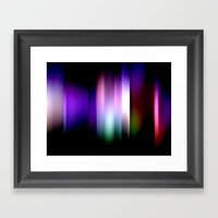 Light and Shadow Framed Art Print