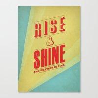 Rise&Shine Canvas Print
