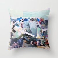 Man Down Throw Pillow