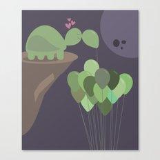 A Sad Love Canvas Print