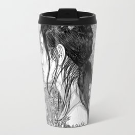 Travel Mug - Love is in Beauty and Chaos - PedroTapa