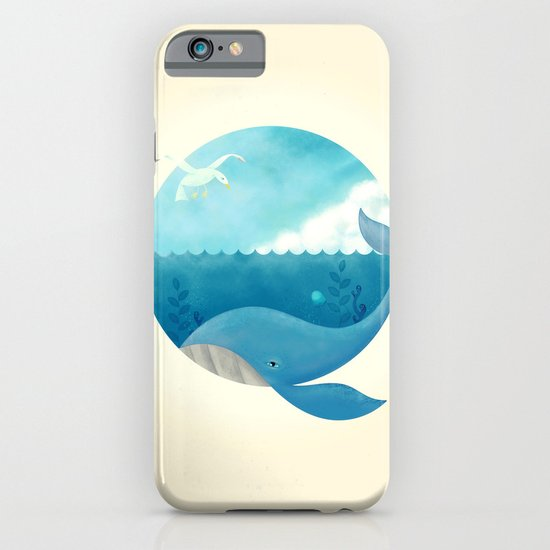 Whale & Seagull (US and THEM) iPhone & iPod Case