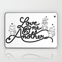 Love One Another Laptop & iPad Skin