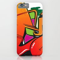 iPhone & iPod Case featuring Graffiti by Sobhani
