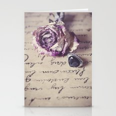 The Way To Your Heart Stationery Cards