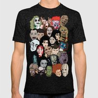 Halloween Gumbo Mens Fitted Tee Tri-Black SMALL
