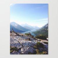 Waterton Bear Hump Canvas Print