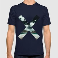 XX  Mens Fitted Tee Navy SMALL
