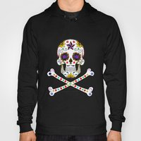 Sugar Skull & Cross Bones Hoody