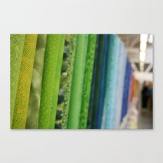 Fabric Canvas Print