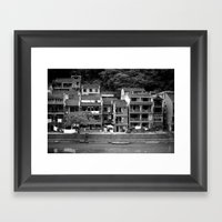 PHOENIX CITY CHINA Framed Art Print