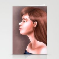 Young and Beautiful Stationery Cards