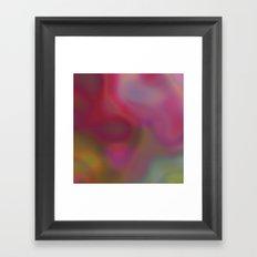 Color Kiss Framed Art Print