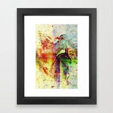 Even The Heavenly Falter Framed Art Print