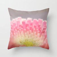 Winter flower. Throw Pillow