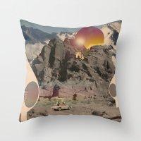 Astro_buchi Throw Pillow