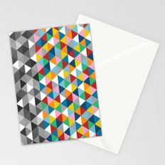Triangles with Topper Stationery Cards