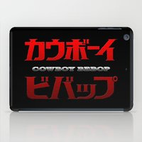 Cowboy Bebop Logo Remix iPad Case