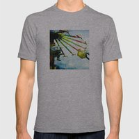 County Fair Mens Fitted Tee Athletic Grey SMALL