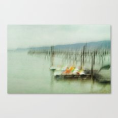 Lake Impressions Canvas Print