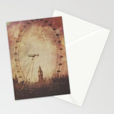 Big Ben in the Eye of London Stationery Cards