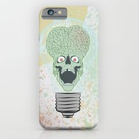 iPhone & iPod Case featuring Think Martian  by Geekleetist