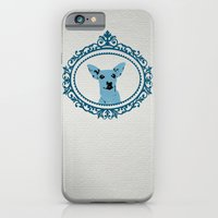 iPhone & iPod Case featuring Aristocratic Mini Pinscher by natsnats