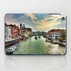 Sunrise on the Grand Canal, Venice iPad Case