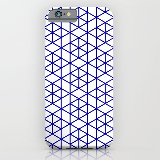 Karthuizer Blue & White Pattern iPhone & iPod Case