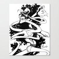 Plasticman! Canvas Print