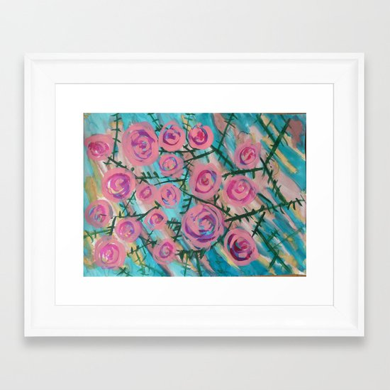 Florence Rose Framed Art Print