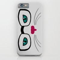 Hipster Cat iPhone 6 Slim Case