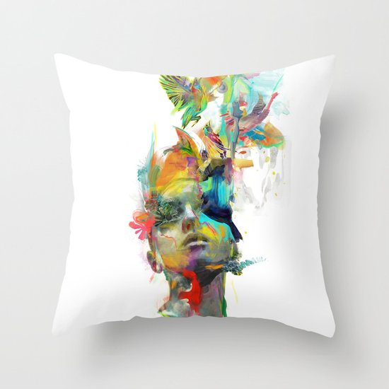 Dream Theory Throw Pillow
