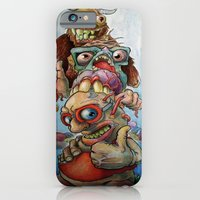 iPhone & iPod Case featuring Character Totem by Grant Yuhre