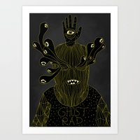 Ghost Rad Art Print