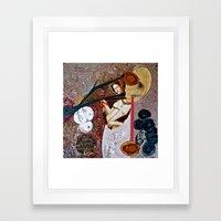 Deathgown Framed Art Print